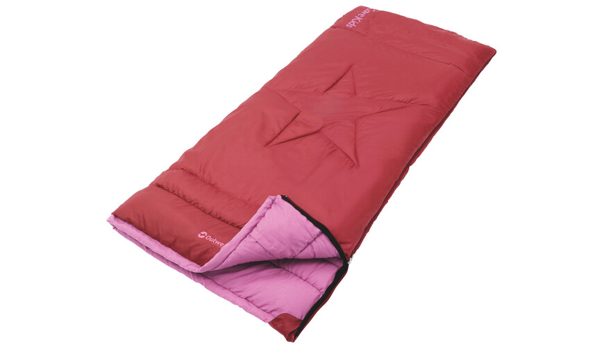 Outwell Cave Kids - Sac de couchage - rouge